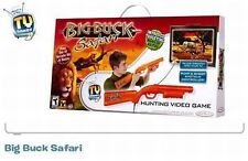 Big Buck Safari Hunting Video Game NEW SEALED Jakks Pacific TV Games 8+