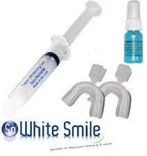 TEETH WHITENING KIT-10Cc 0% PEROXIDE GEL+20Cc STAIN REMOVAL SPRAY-MADE IN USA-
