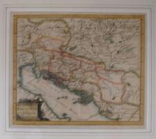 NORTHERN ADRIATIC. VETERIS ET NOVA PANNONIAE ET ILLYRICI..... CLUVERIUS 1704
