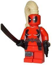 **NEW** LEGO Custom Printed LADY DEADPOOL Marvel Universe Minifigure