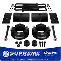 """For 07-20 Toyota Tundra 4WD 3"""" + 2"""" Lift Kit + Alignment Shims + Diff Drop"""