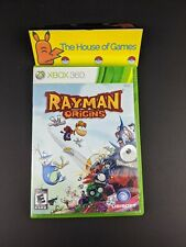 Rayman Origins (Microsoft Xbox 360, 2011) Complete Manual Tested Canadian