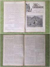 1890 CARABINIERI RIPALDA LARINO CAMASTRA NARO COMO MARIANO COMENSE