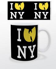 WU-TANG CLAN I HEART NY 11 OZ COFFEE MUG HIPHOP MUSIC NEW YORK NYC RAP LEGENDS!!