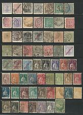 Portugal: Lot of 60 stamps, some value round corners, some faulty value PT21