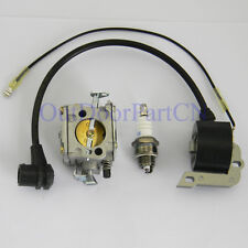 For Chainsaw HUSQVARNA 61 266 268 272 Carburetor Carb Ignition Coil SPARK PLUG