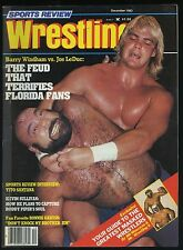 Sports Review Wrestling Magazine - Dec 1983 - Barry Windham v Jos LeDuc