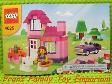 New LEGO 4625 City/Town INSTRUCTION MANUAL ONLY House Car No Brick Parts