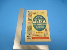 1940 New Weather Almanac & Hand Book of Valuable Information Miles Lab In M728