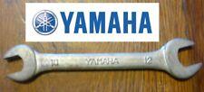 rare CLE moto YAMAHA 10 12 vintage collector trousse à outils 100% ORIGINAL key