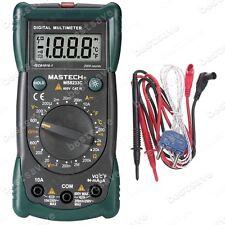 Mastech MS8233C Digital Multimeter Voltage Resistance Temp. Meter Back-lit B0268