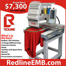 Redline Embroidery Machine | Commercial Embroidery Machine