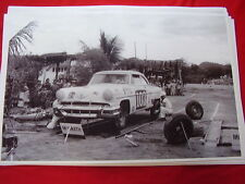 1954 LINCOLN CAPRI PAN-AMERICAN RACE CAR 11 X 17  PHOTO   PICTURE