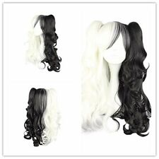 "Black and White Bear Cosplay Wig 70cm/27.6"" for The Broken 2 Projectile Women"
