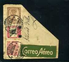frag cover COLOMBIA .- coffe,banana ''CORREO AEREO' 10- 11 1939  ''MARCOPHILIA''