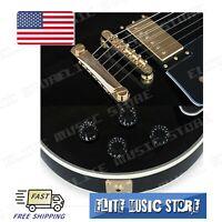1 Set Golden LP Guitar Tune-o-matic Bridge Tailpiece fits Les Paul US