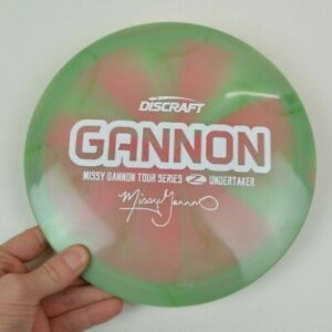🍉 *WATERMELON* Discraft Swirly Tour Series Z Undertaker, *Missy Gannon*