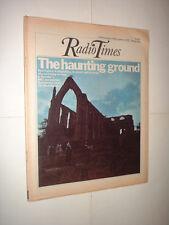 29/11 1975 RADIO TIMES magazine GHOST HUNTERS BOLTON ABBEY