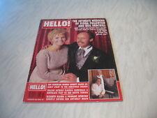 Hello magazine # 335 1994 December 17 Fiona Fullerton cover Ronnie Corbett