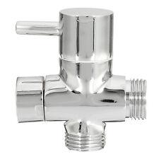 G1/2'' 3-Way Brass T-adapter Diverter Valve For Bidet Shattaf Shower Sprayer