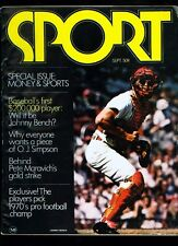1970 (Sept.) SPORT magazine (Johnny Bench cover)