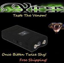 Viper Black 1860 million Volt Self Defense Stun Gun flashlight + Holster