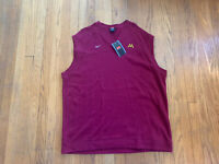 Minnesota Golden Gophers Vintage 90's Knitted Vest Pullover Mens XXL NWT Maroon