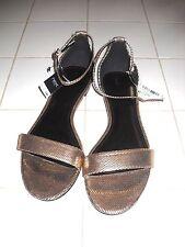 Ladies New Next Gold Sandals size 8