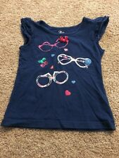The Children's Place Toddler Girls Dark Blue Pink Sequin Sunglasses Top 4