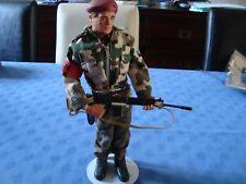 VINTAGE ACTION JOE ACTION MAN PALITOY  CUSTOM RÉGIMENT PARA BRITANNIQUE NATO