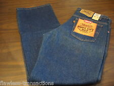 LEVI JEANS VINTAGE 517 Orange Tab Bootcut Denim Blue Jeans Levis 36 x 32 NEW