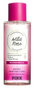 Victoria's Secret Pink New! Flower Blend Body Mist WILD ROSE 250ml