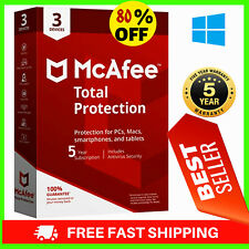 McAfee Total Protection 2020🔑 3 Device 5 Year Antivirus ✅Ínstant dєlivery 🔑