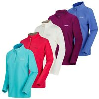 Regatta Womens Sweethart Micro Fleece Top Lightweight Ladies Half Zip From £8.99