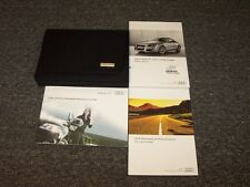 2012 Audi TT TTS RS Coupe Owner Owner's Operator Manual Set Quattro 2.0L 2.5L