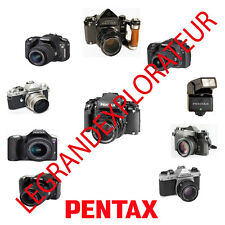 Ultimate  Pentax Camera  Operation Repair Service manual Collection on DVD