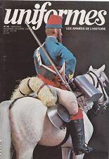 UNIFORMES LES ARMÉES DE L'HISTOIRE N°58 ED. ARGOUT