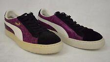 Puma Shoes Reptile Lo Purple Snake Black Dahlia Sneakers 10.5 Mens 344199 03 New