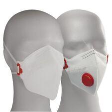 10 x Feinstaubmaske-FFP3-Ventil-Staubmaske-Atemschutzmaske-Staubmaske-Arbeitssc