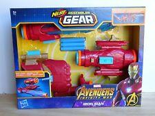 BNIB Avengers Marvel Infinity War Nerf Iron Man Assembler Gear