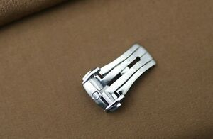 Omega Deployment Clasp 16 mm - Omega Buckle 16 mm - Omega Clasp 16 mm - Polished