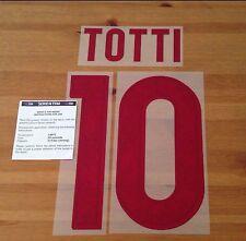 Niños como Roma lejos Camisa 2015-16 Totti #10 conjunto de número de nombre oficial stilscreen