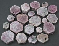 1/2 lb Lot Ruby Sapphire Natural Hexagonal Corundum Crystals (8 oz)