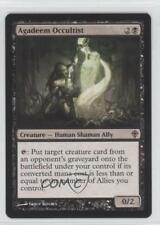 2010 Magic: The Gathering - Worldwake Booster Pack Base 48 Agadeem Occultist 0a1