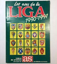 ALBUM LOS ASES DE LA LIGA 1990  1991 - COMPLETO. DIARIO AS OFICIAL CROMOS FUTBOL