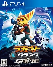 Ratchet & Clank The Game S.E.  SONY PS4 PLAYSTATION 4 JAPANESE NEW JAPANZON