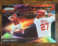 2020 Panini Prizm Mike Trout Instant Impact Silver Holo Angels SP Pack Fresh