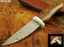 ALISTAR SUPERB MINI HANDMADE DAMASCUS STEEL SKINNER/HUNTING KNIFE (2824-6