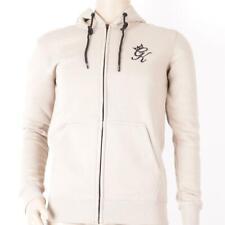 New listing Mens Gym King Fleece Sand FZ Hooded Top (SJ2) RRP £49.99