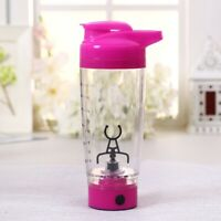 Electric Protein HandHeld Drink Shaker Mixer Tornado Vortex Blender Cup Bottle